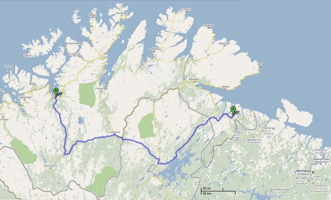 singel mann Kirkenes