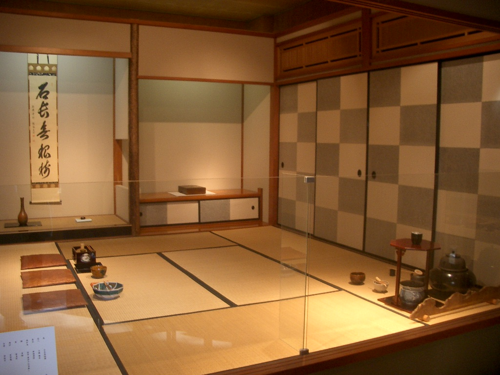Japanese tea house interior - Tea Room At The Ishikawa Prefectural Museum For Traditional Products And Crafts